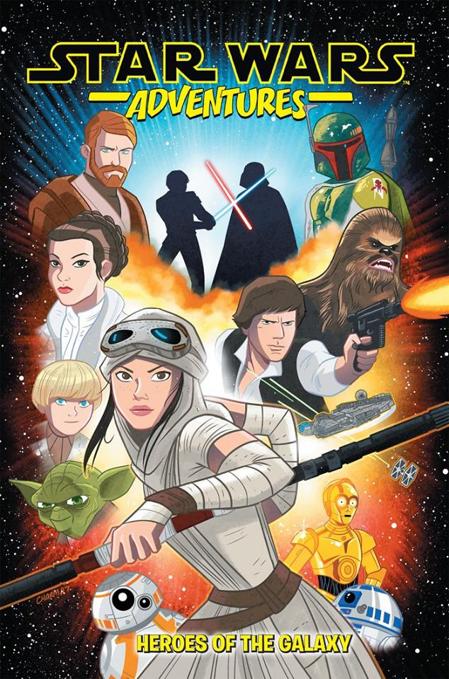Star Wars Adventures Volume 1: Heroes of the Galaxy