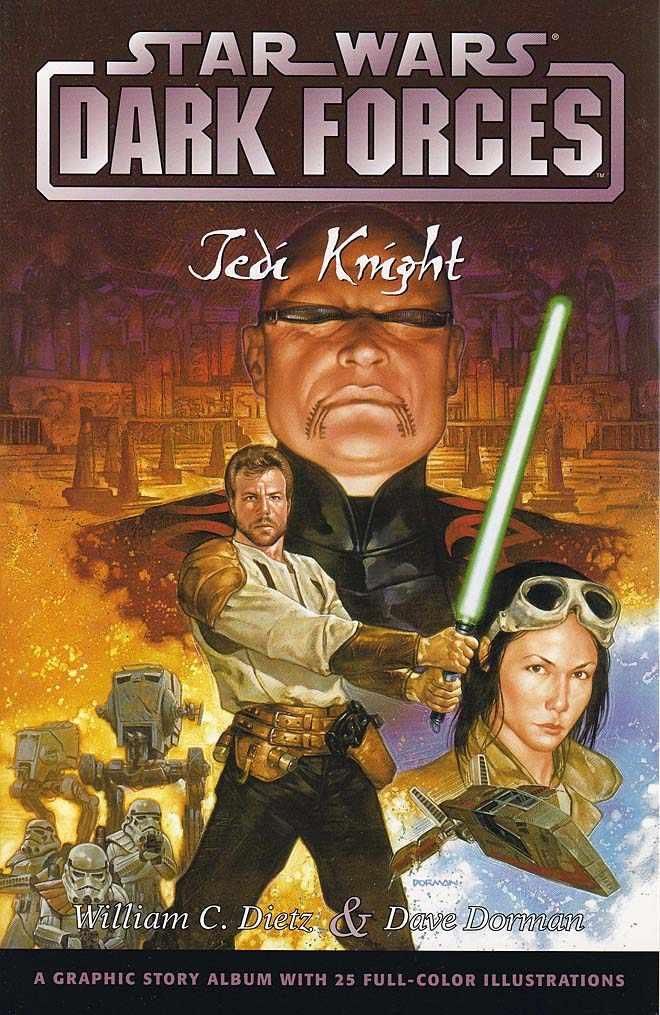 Star Wars Dark Forces: Jedi Knight (paperback)