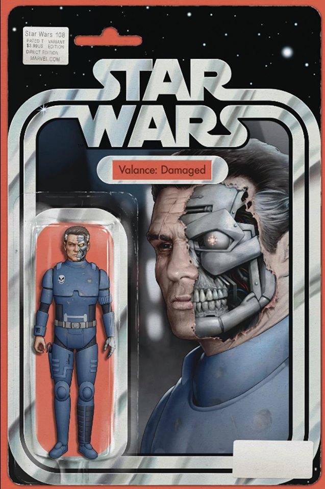 Star Wars 108 (Legends) - Action Figure Variant - Valance (Damaged)