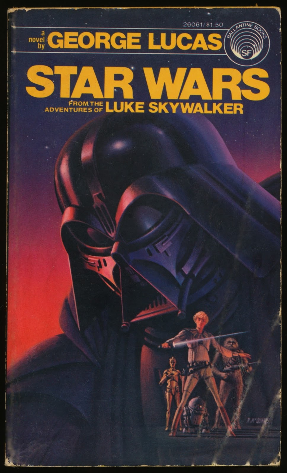 Star Wars: From the Adventures of Luke Skywalker (First Edition)