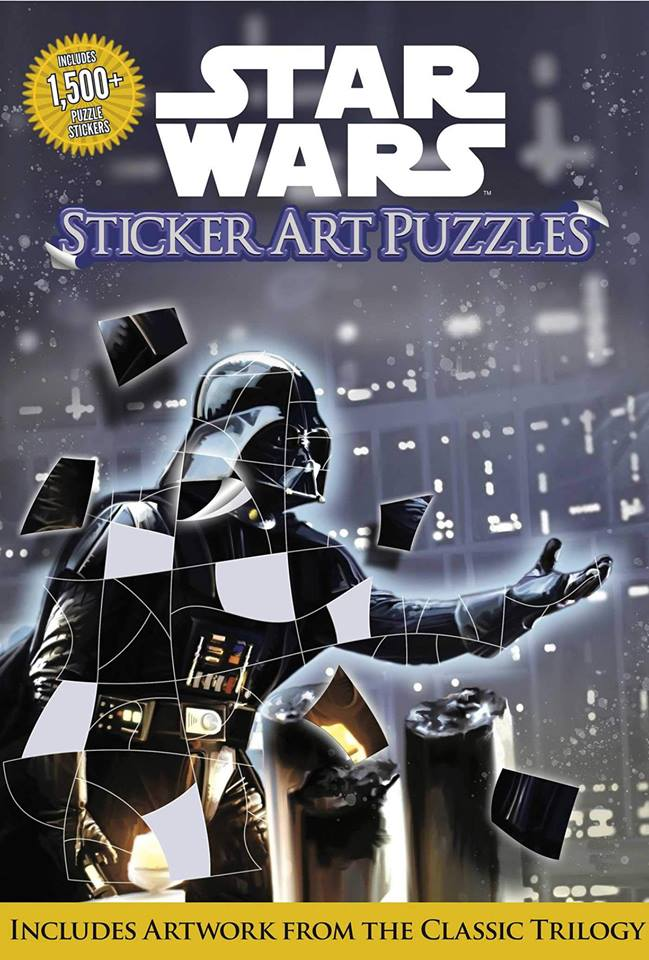Star Wars: Sticker Art Puzzles