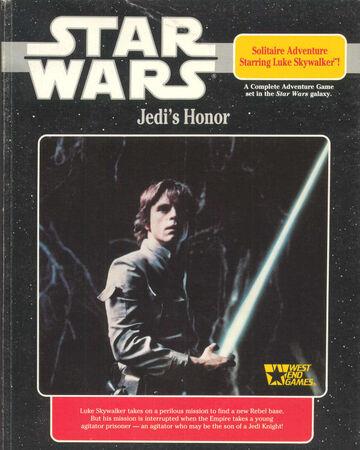 Jedi's Honor: Star Wars Solitary Adventure Game