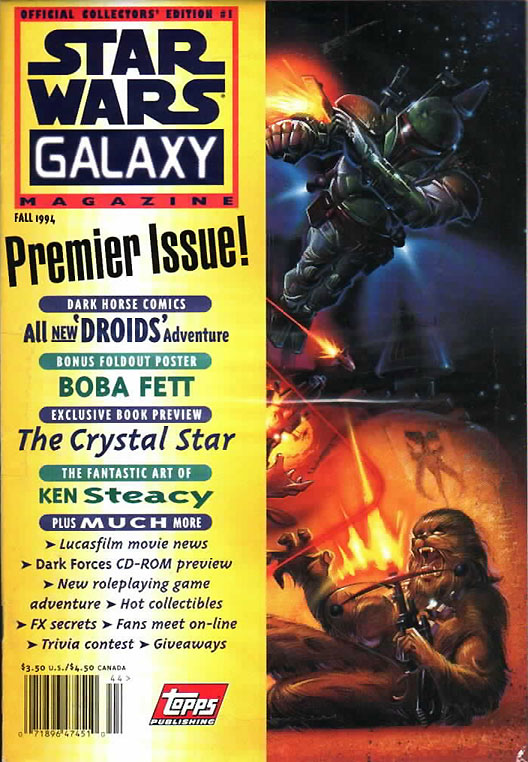 Star Wars Galaxy Magazine 1