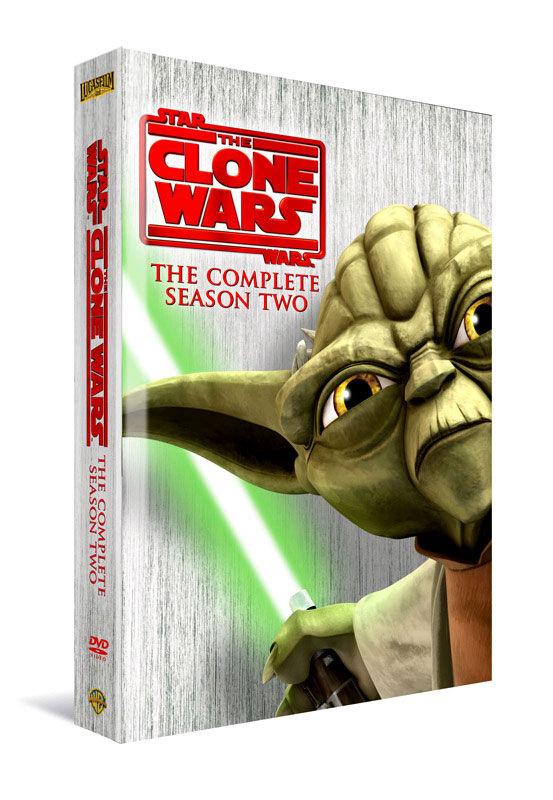 Star Wars: The Clone Wars Season Two (DVD)