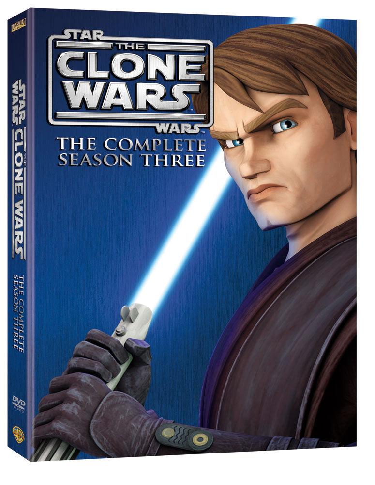 Star Wars: The Clone Wars Season Three (DVD)