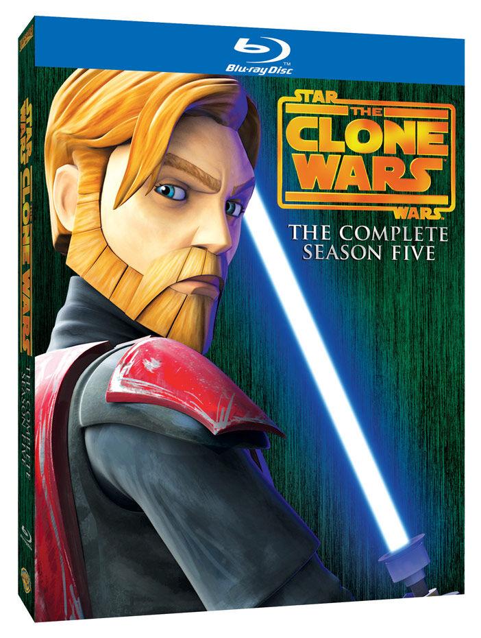 Star Wars: The Clone Wars Season Five (Blu Ray)