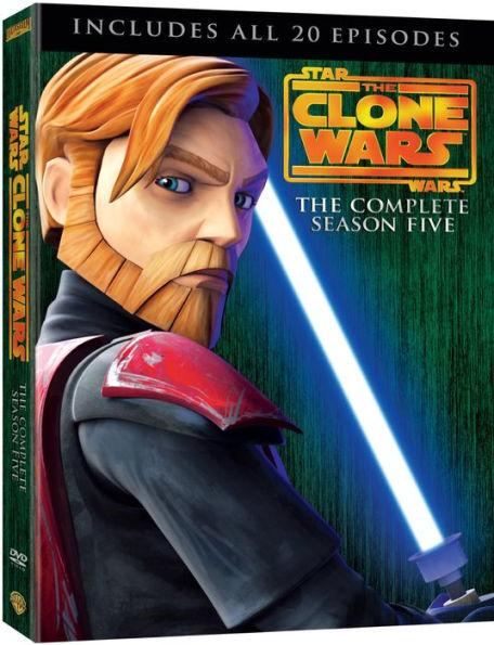 Star Wars: The Clone Wars Season Five (DVD)
