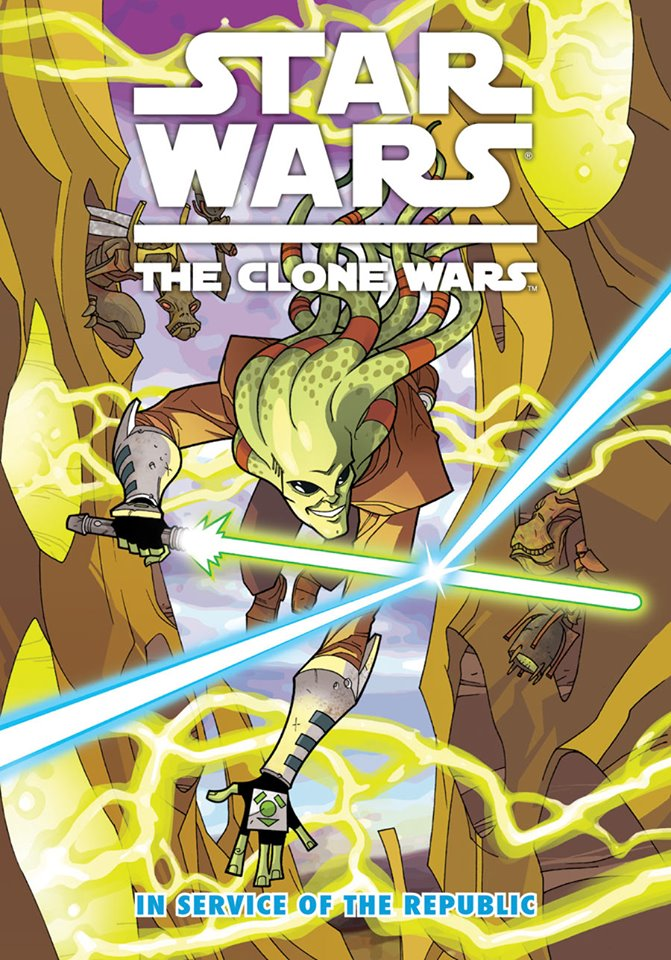 Star Wars The Clone Wars: In Service of the Republic