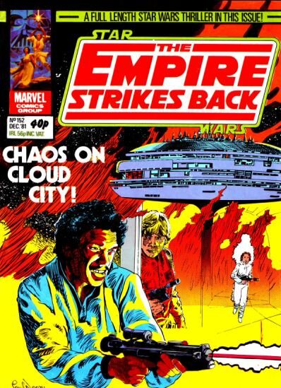 The Empire Strikes Back Monthly 152