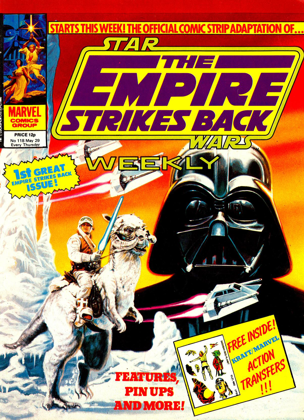 Star Wars: The Empire Strikes Back (Marvel 1977)