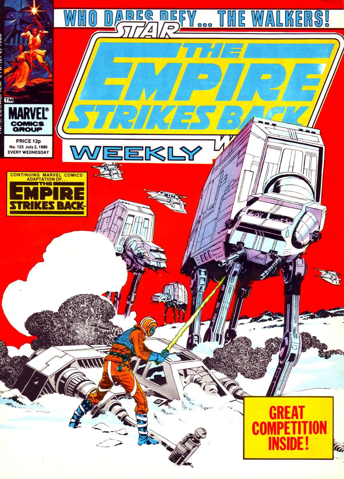 The Empire Strikes Back Weekly 123