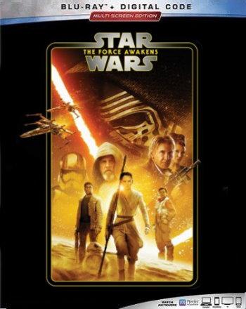 Star Wars: The Force Awakens (2019 Blu Ray)