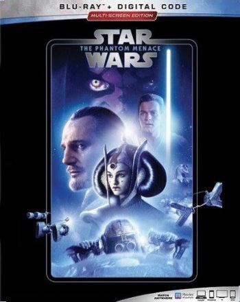 Star Wars: The Phantom Menace (2019 Blu Ray)