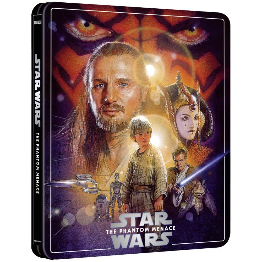 Star Wars: The Phantom Menace (Zavvi Steelbook)