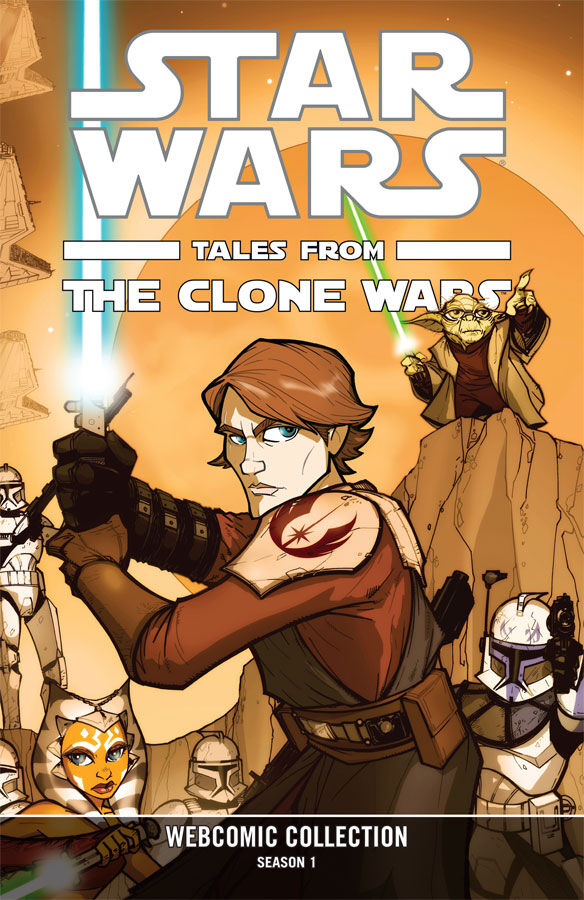Star Wars: Tales From the Clone Wars Webcomic Collection - Season 1