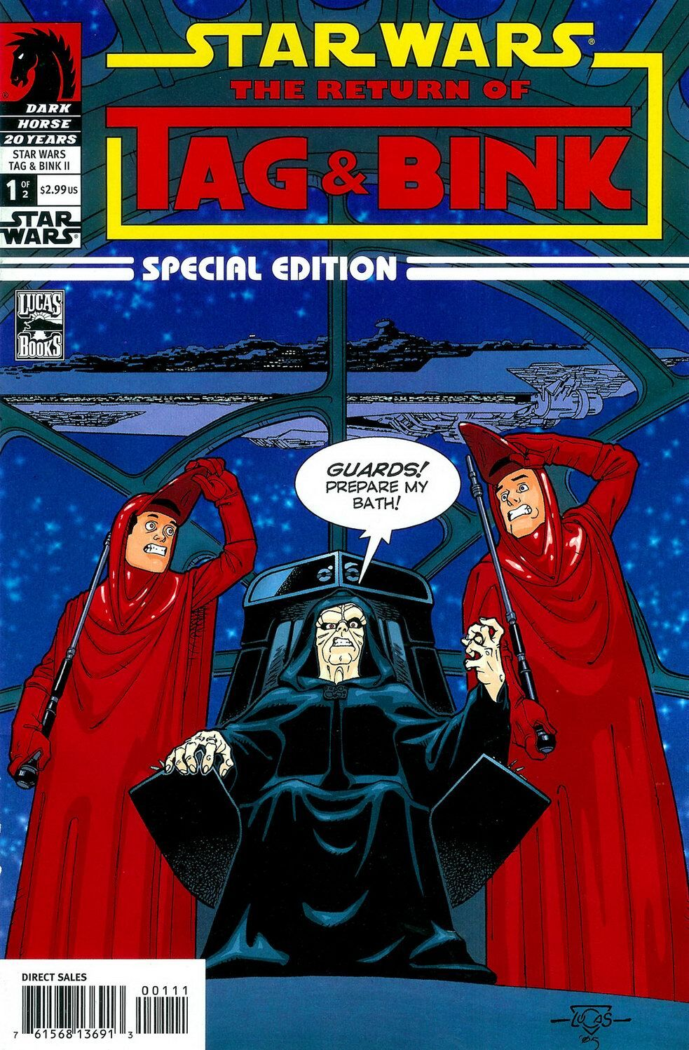 Star Wars: The Return of Tag and Bink Special Edition 1