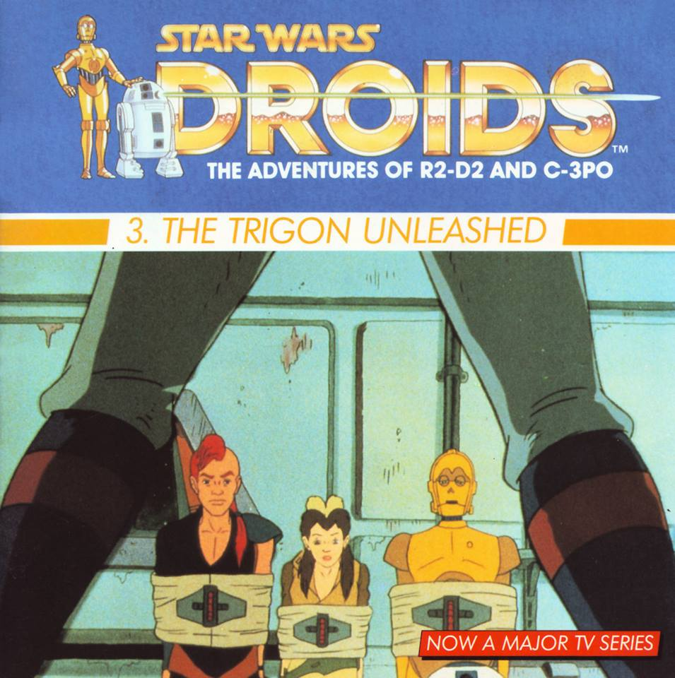 The Trigon Unleashed: A Droid Adventure (Dragon Books)