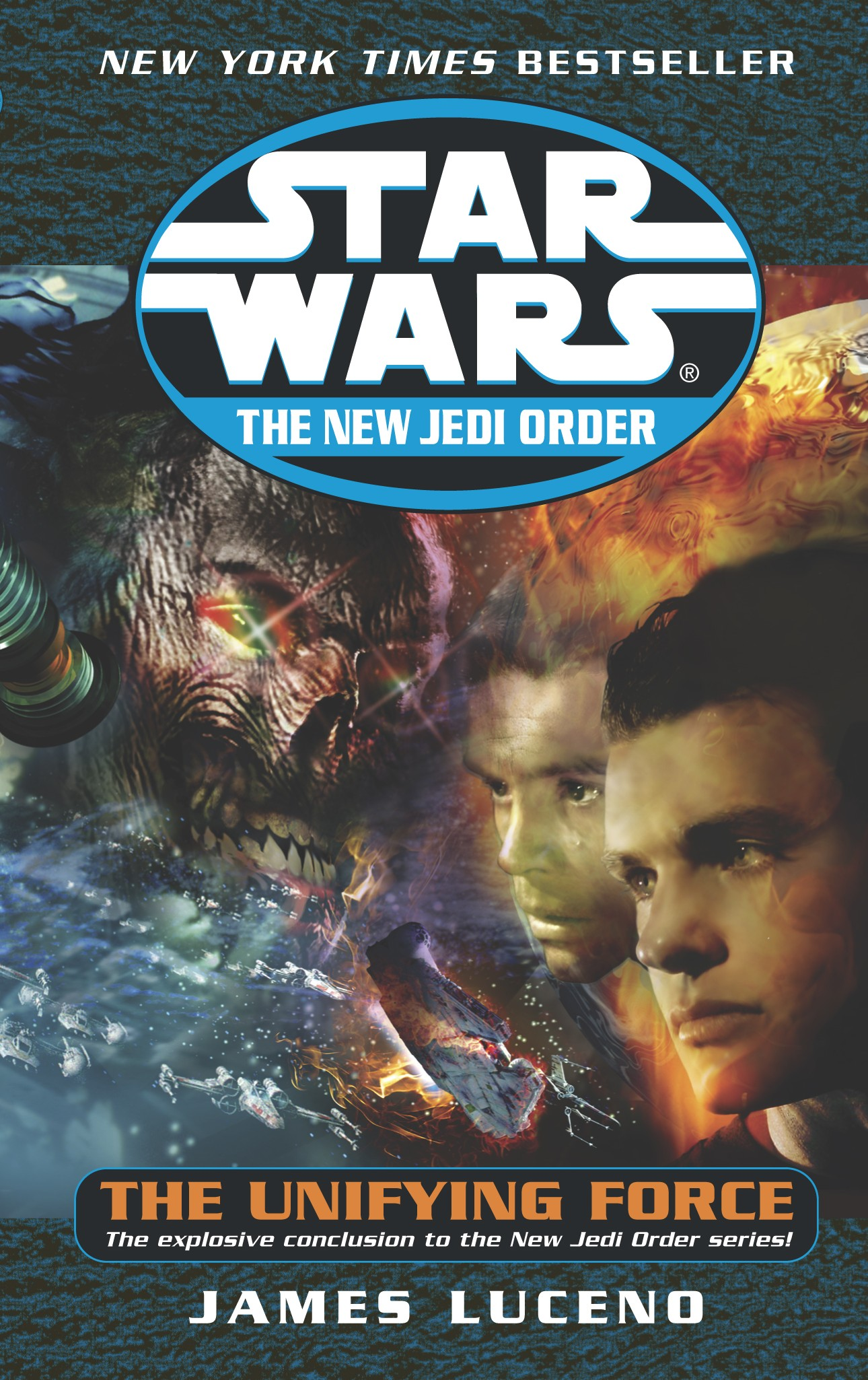 Star Wars The New Jedi Order: The Unifying Force (paperback)