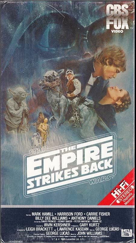 Star Wars: The Empire Strikes Back (VHS)