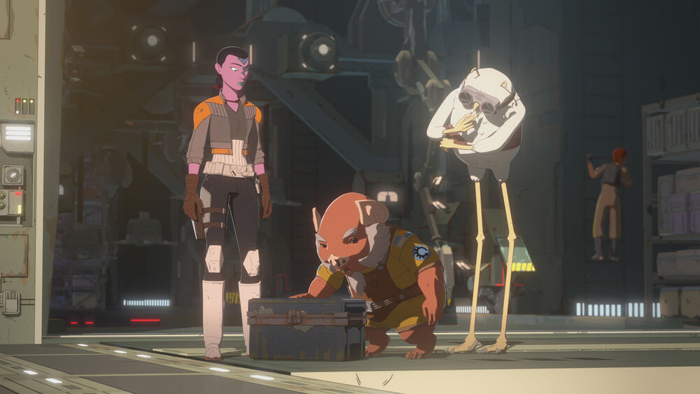 Star Wars Resistance: Treasure Chest