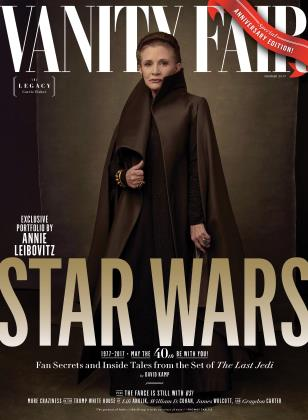 Vanity Fair No. 683 - General Leia Cover