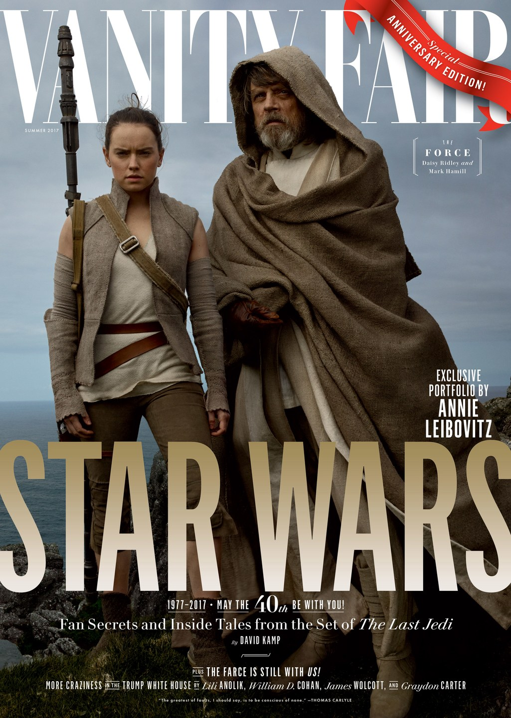 Vanity Fair No. 683 - The Force Cover