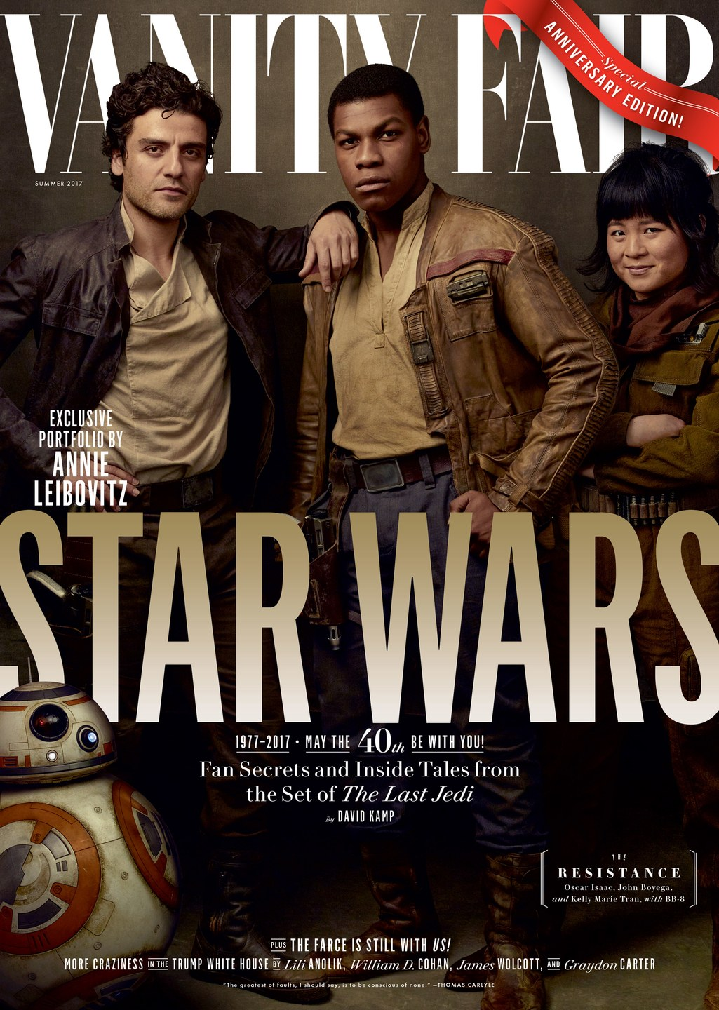 Vanity Fair No. 683 - The Resistance Cover