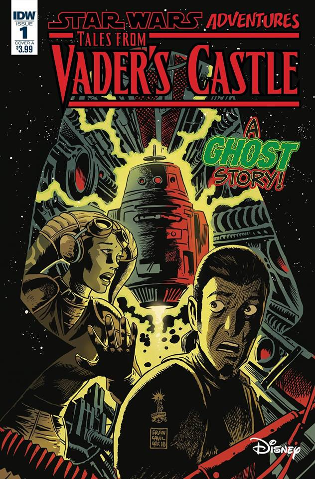 Star Wars Tales From Vader's Castle: The Haunting of the Ghost