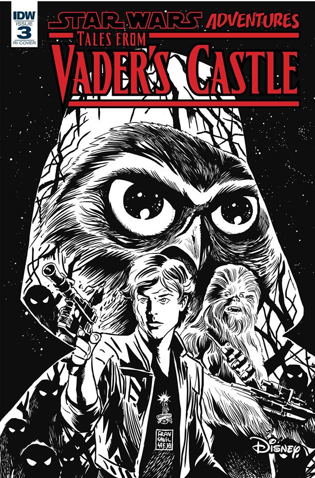 Star Wars: Tales from Vader's Castle 3 - Retail Incentive Cover (Francesco Francavilla)