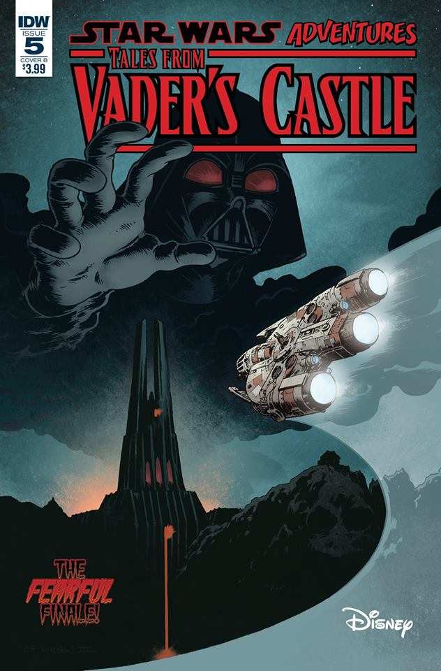Star Wars: Tales from Vader's Castle 5 - Cover B (Charles Paul Wilson III)