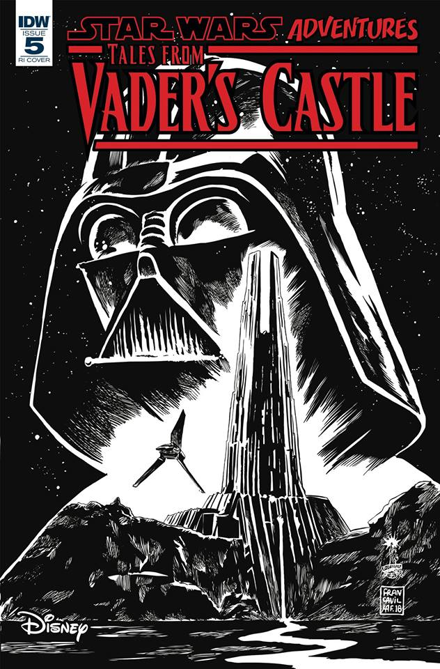 Star Wars: Tales from Vader's Castle 5 - Retail Incentive Cover (Francesco Francavilla)