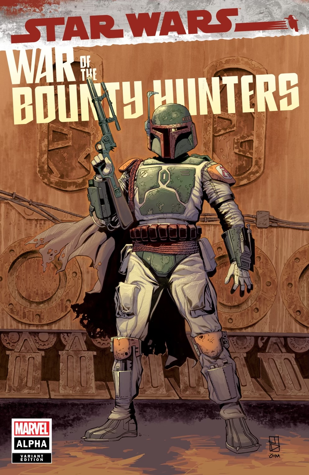 Star Wars: War of the Bounty Hunters Alpha - Kowabunga Comics Variant