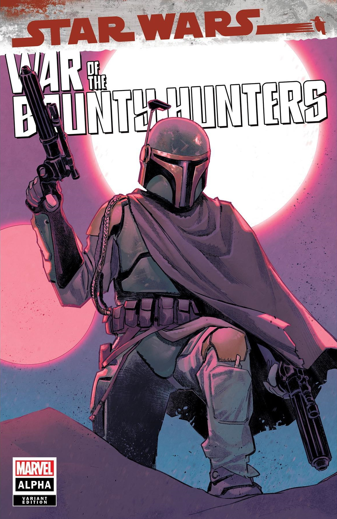 Star Wars: War of the Bounty Hunters Alpha - Scorpion Comics Variant