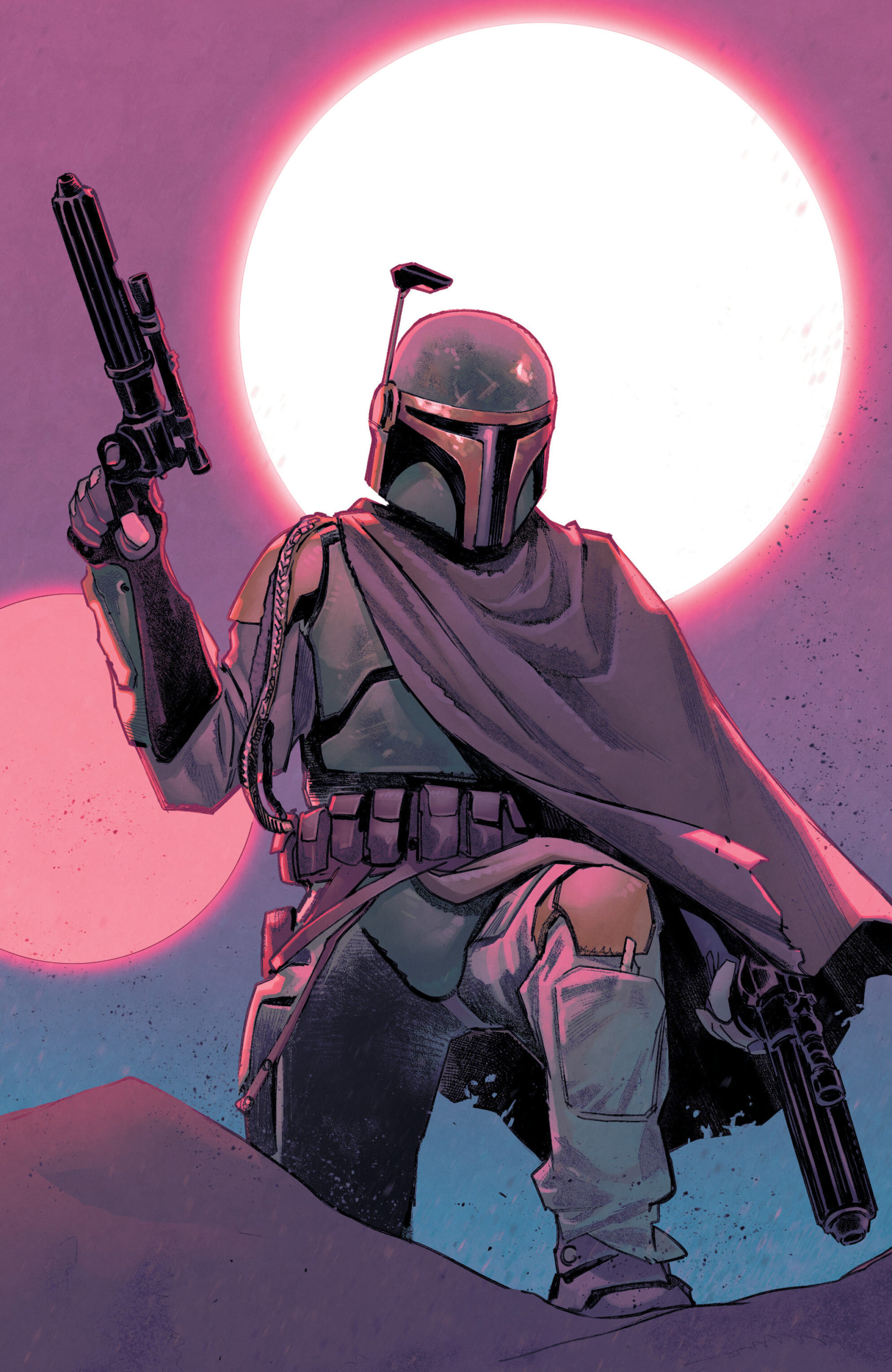 Star Wars: War of the Bounty Hunters Alpha - Scorpion Comics Virgin Variant