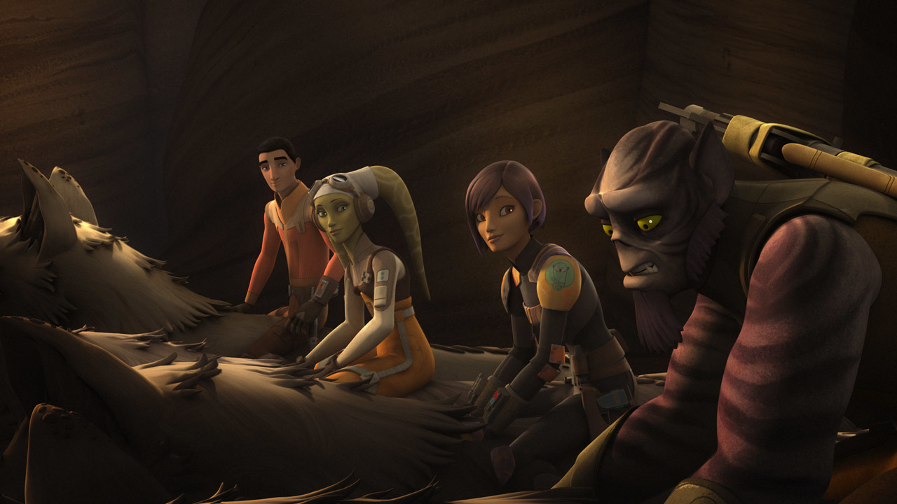 Star Wars Rebels: Wolves and a Door
