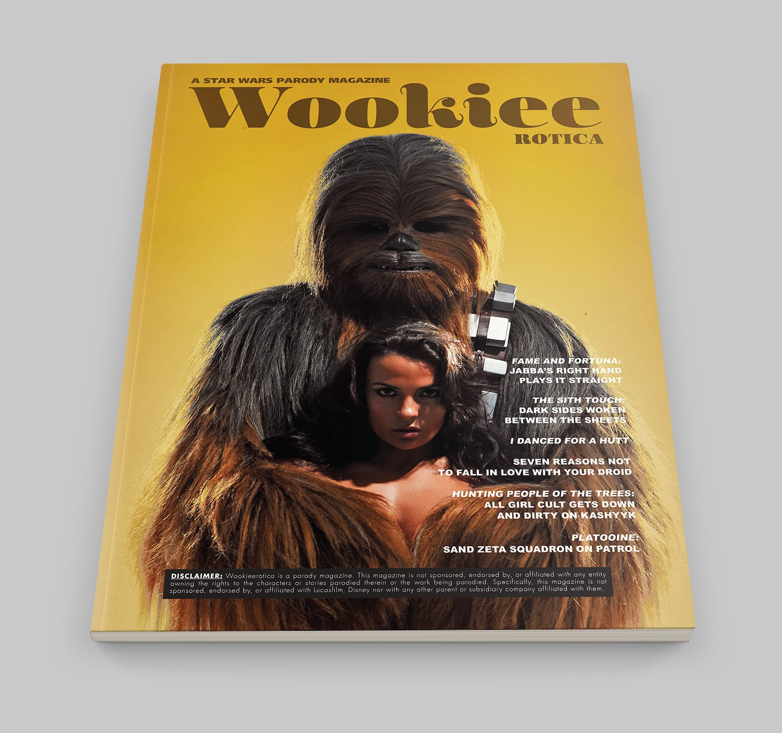 Wookieerotica: A Star Wars Parody Magazine (Issue 1)