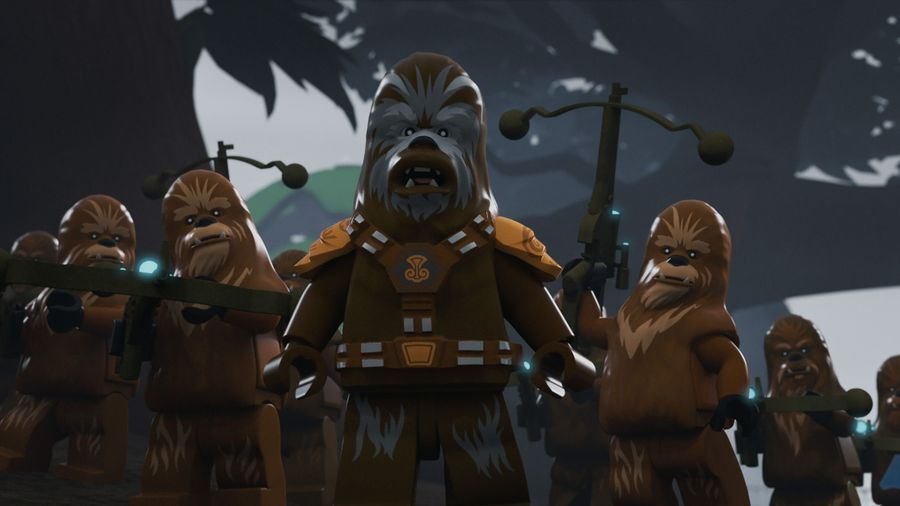 Lego Star Wars The Freemaker Adventures: Peril on Kashyyyk