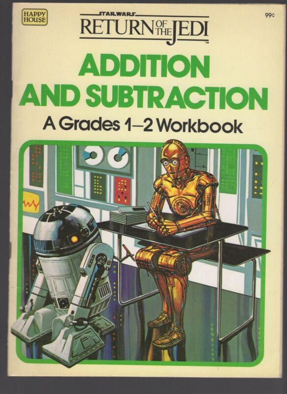 Star Wars Return of the Jedi: Addition and Subtraction - A Grades 1-2 Workbook