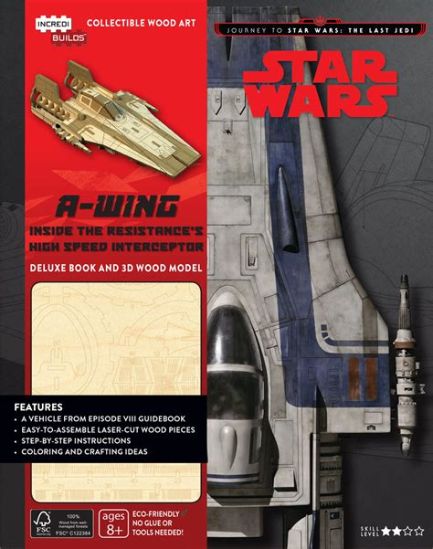Star Wars Incredibuilds: A-Wing