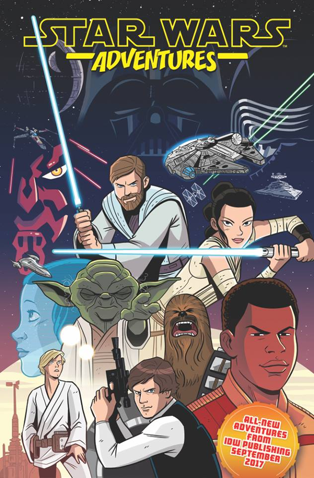 Star Wars Adventures: SDCC Ashcan Issue