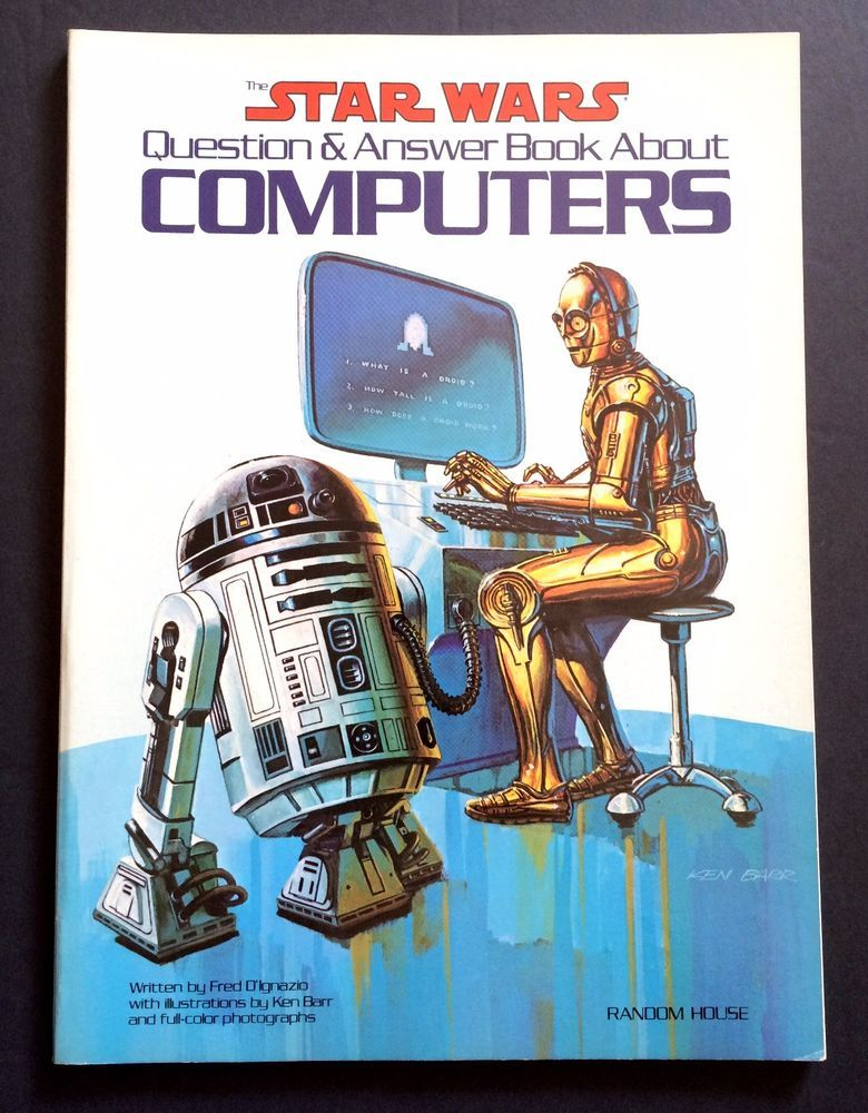 The Star Wars Question and Answer Book About Computers