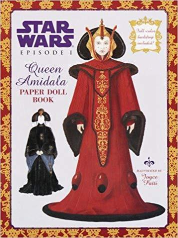Star Wars: Episode I: Queen Amidala Paper Doll Book