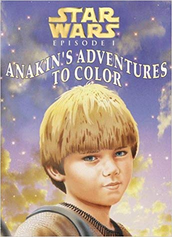 Star Wars Episode I: Anakin's Adventures to Color