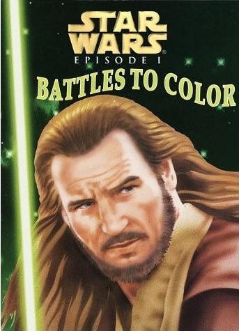 Star Wars Episode I: Battles to Color