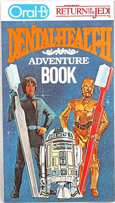 Star Wars Return of the Jedi Dental Health Adventure Book