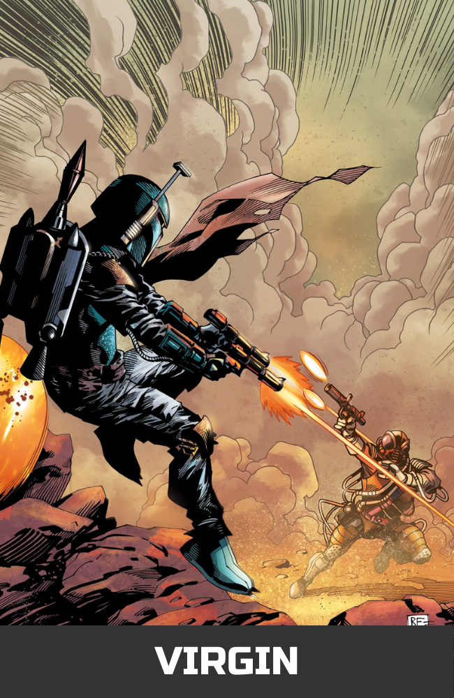 Star Wars: War of the Bounty Hunters Alpha - Comic Book Exclusive Virgin Variant