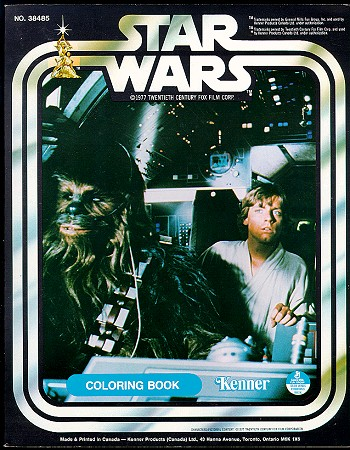 Star Wars Coloring Book (Luke and Chewie)