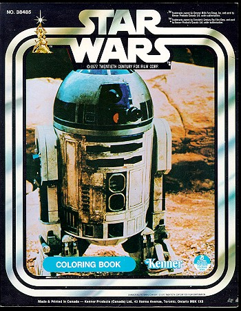 Star Wars Coloring Book (R2-D2)