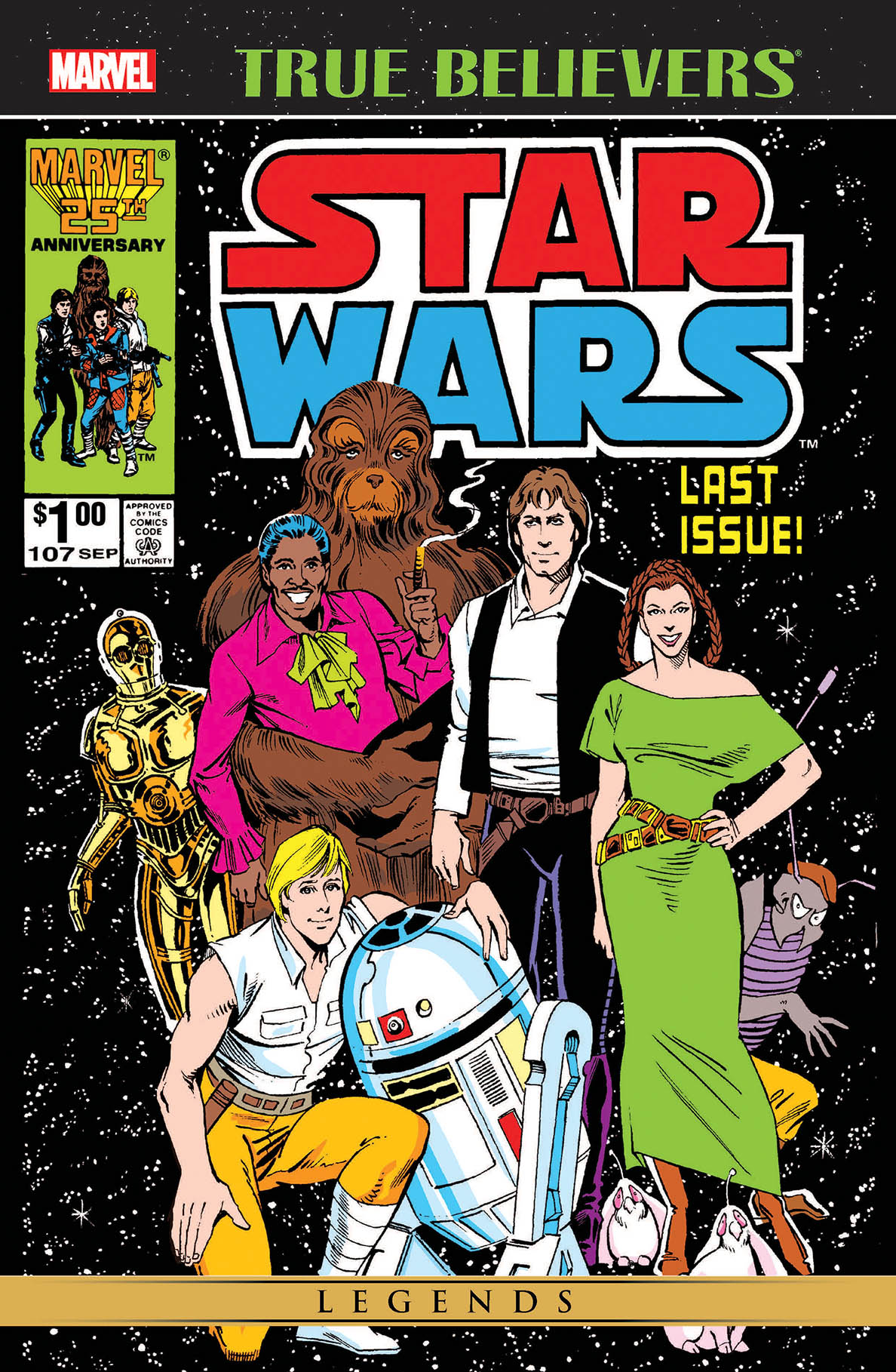 Star Wars The Original Marvel Years 107 (True Believers)
