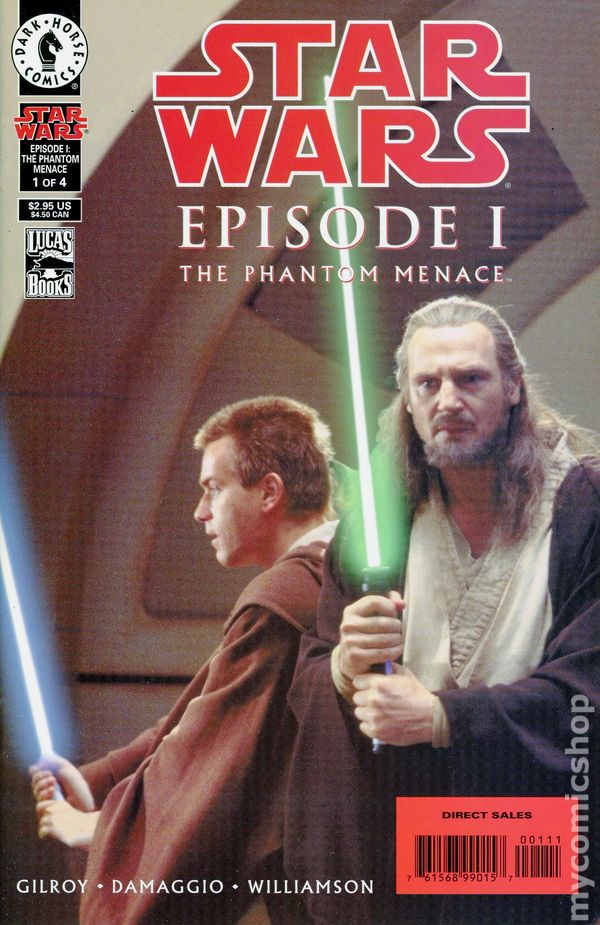 Star Wars Episode I: The Phantom Menace (Photo Cover) 1